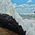 Clear Water Splash Buxton Jetty 1 6/06 by Mark Lemmon