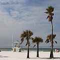 Clearwater Beach In Wintertime by Christiane Schulze Art And Photography