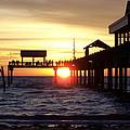 Clearwater Beach Pier by David T Wilkinson