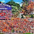 Clemson Tigers Memorial Stadium II by Jeff McJunkin