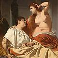 Cleopatra And Antony by Heinrich von Angeli