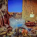 Cleopatra So What Bath Slippers Where by Lyudmila Prokopenko