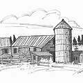 Clermont Barn 2 by Richard Wambach