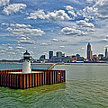 Cleveland Harbor  by Marcia Colelli