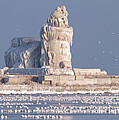 Cleveland Harbor West Pierhead Lighthouse by Joshua Clark
