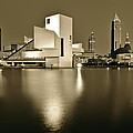 Cleveland In Sepia by Frozen in Time Fine Art Photography