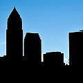 Cleveland In Silhouette by Frozen in Time Fine Art Photography