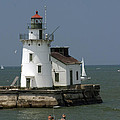 Cleveland Lighthouse by Darleen Stry