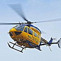 Cleveland Metro Life Flight by Frozen in Time Fine Art Photography