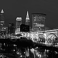 Cleveland Panorama  by Clint Buhler