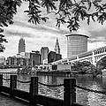 Cleveland River Cityscape by Dale Kincaid