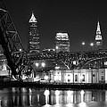 Cleveland Shining Bright by Frozen in Time Fine Art Photography
