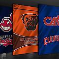 Cleveland Sports Teams by Joe Hamilton
