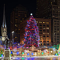 Cleveland's Christmas Tree by Clint Buhler