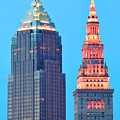 Clevelands Iconic Towers by Frozen in Time Fine Art Photography