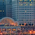 Clevelands Tower City by Frozen in Time Fine Art Photography