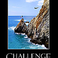 Cliff Divers Of Acapulco by Tanya Cordy