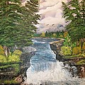 Cliff Falls by Sharon Duguay