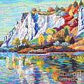 Cliff Landscape by Elizabeth Elkin