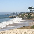 Santa Cruz Cliffline  by Christiane Schulze Art And Photography