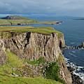 Cliffs Along The Rugged North Coast by Carl Bruemmer