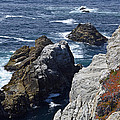 Cliffs And Coastline At California's Point Lobos State Natural Reserve by Bruce Gourley