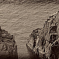 Cliffs At Bonavista by David Stone