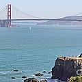 Cliffs Near Golden Gate Bridge by Jack Schultz