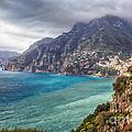 Cliffs Of Amalfi Coastline  by George Oze