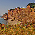 Cliffs Of Cape D'or From A Promontory Over Advocate Bay-ns by Ruth Hager