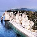Cliffs Of Etretat 1 by Weston Westmoreland