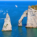 Cliffs Of Etretat France by Julia Fine Art And Photography