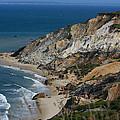 Cliffs Of Gay Head At Aquinnah by Marty Fancy