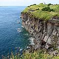 Cliffs Of Korea by Aaron Evans