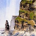 Clare   The Cliffs Of Moher   by Val Byrne