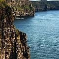 Cliffs Of Moher Clare Ireland by Aidan Moran