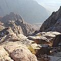 Cliffs Of Mount Sinai by Katerina Naumenko