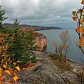 Cliffside Fall Splendor by James Peterson
