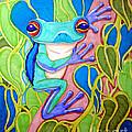 Climbing Tree Frog by Nick Gustafson