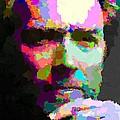 Clint Eastwood - Abstract by Samuel Majcen