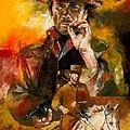 Clint Eastwood by Christiaan Bekker