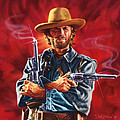 Clint Eastwood by Dick Bobnick