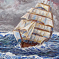 Clipper Ship by Philip Lee
