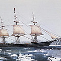 Clipper Ship Red Jacket In The Ice Off Cape Horn On Her Passage From Australia To Liverpool by American School