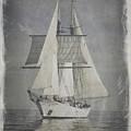 Clipper Under Sail by E Karl Braun