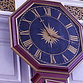 Clock In An Old Church by Dick Willis