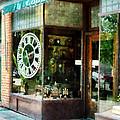 Clock Shop by Susan Savad