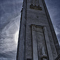 Clock Tower At Montreal by Joel  Bourgoin