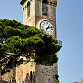 Clock Tower - Cannes - France by Christine Till