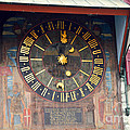 Clock Tower In Solothurn by Felicia Tica